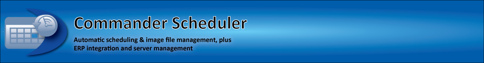 Commander Scheduler